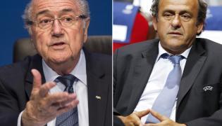 Sepp Blatter i Michel Platini