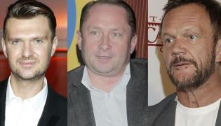 Maciej Zień, Kamil Durczok, Cezary Pazura