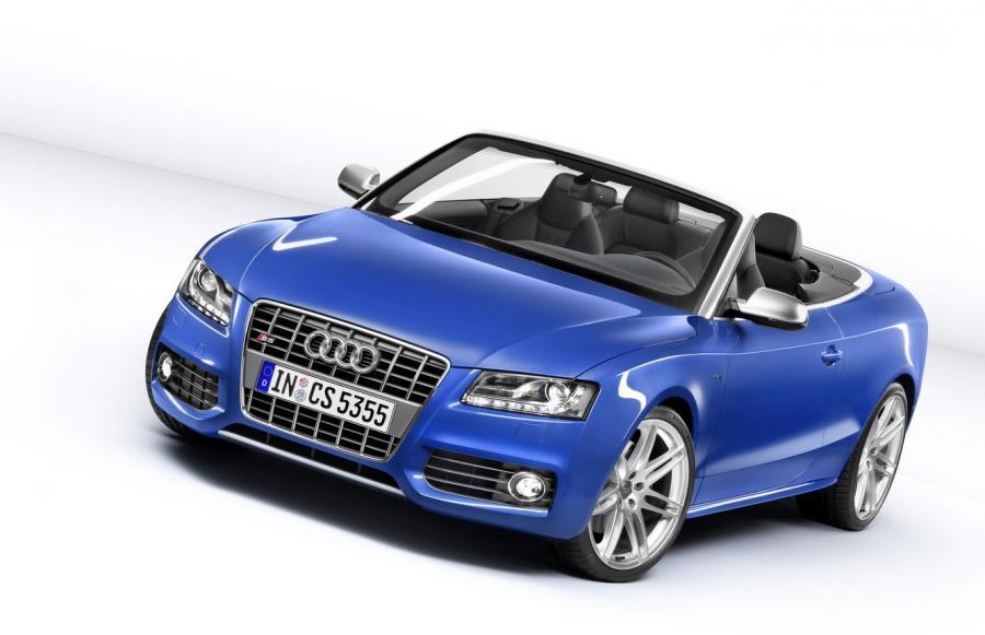 Nowe Audi S5 - topless z wykopem