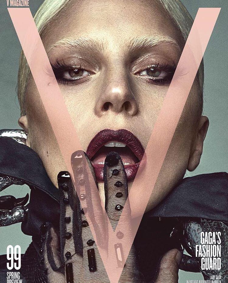 "Lady Gaga na zdjęciach z sesji dla magazynu ""V"""