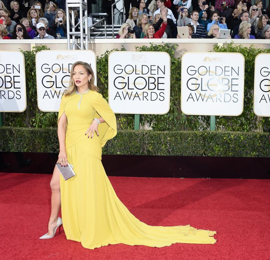 Jennifer Lopez skradła show podczas Złotych Globów