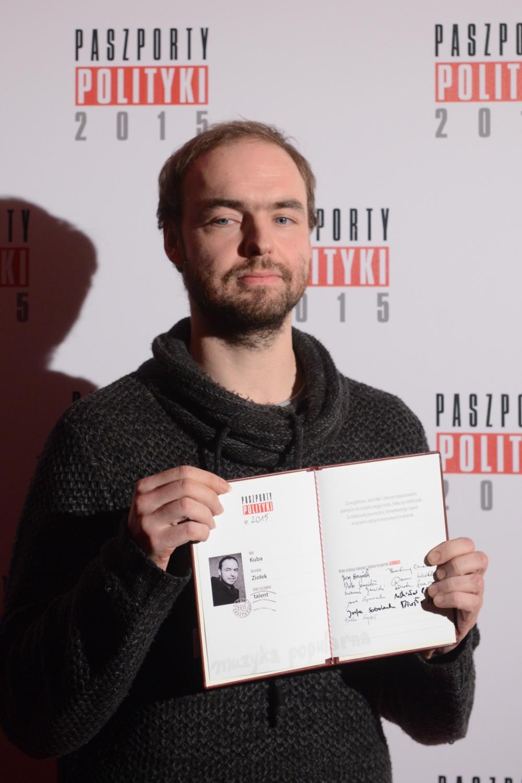 Laureaci Paszportów Polityki: Kuba Ziołek