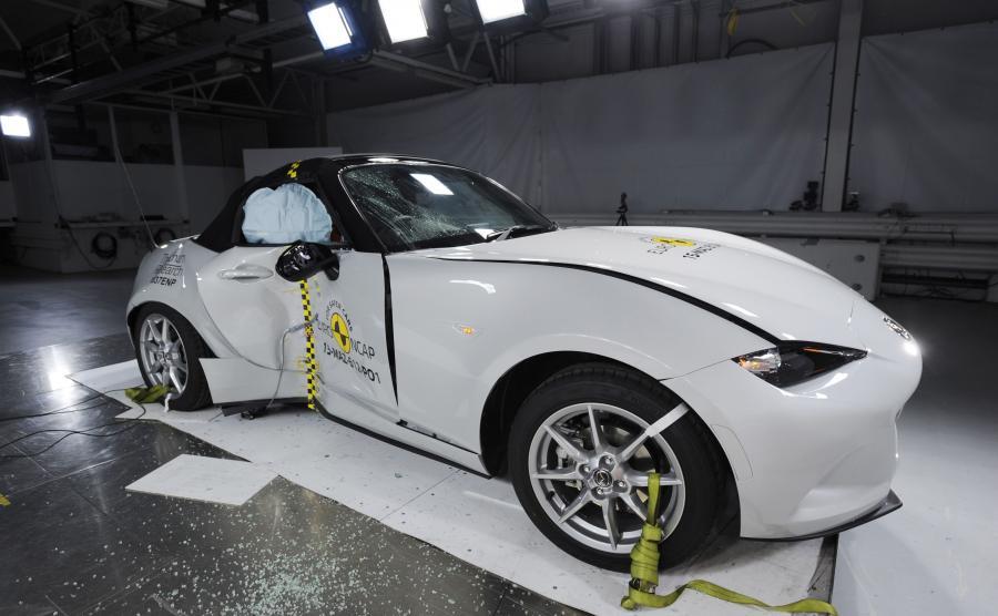 Mazda MX-5 - najbezpieczniejszy roadster 2015 wg Euro NCAP