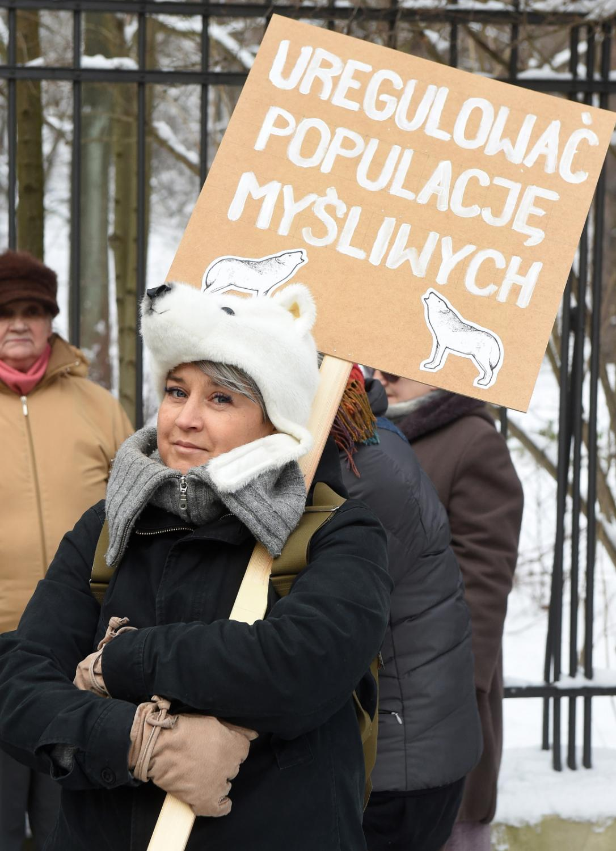 Marsz w obonie Puszczy Białowieskiej