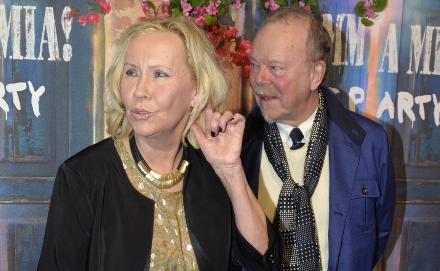 Agnetha Fältskog i Thomas Johansson
