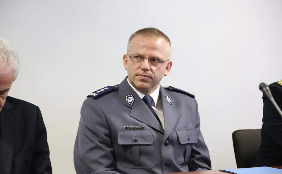 Nadinspektor Cezary Popławski