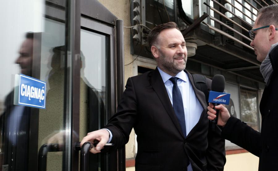 Dawid Jackiewicz, minister skarbu