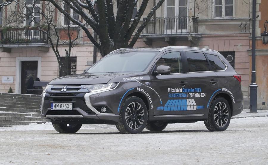 Mitsubishi outlander PHEV 2016
