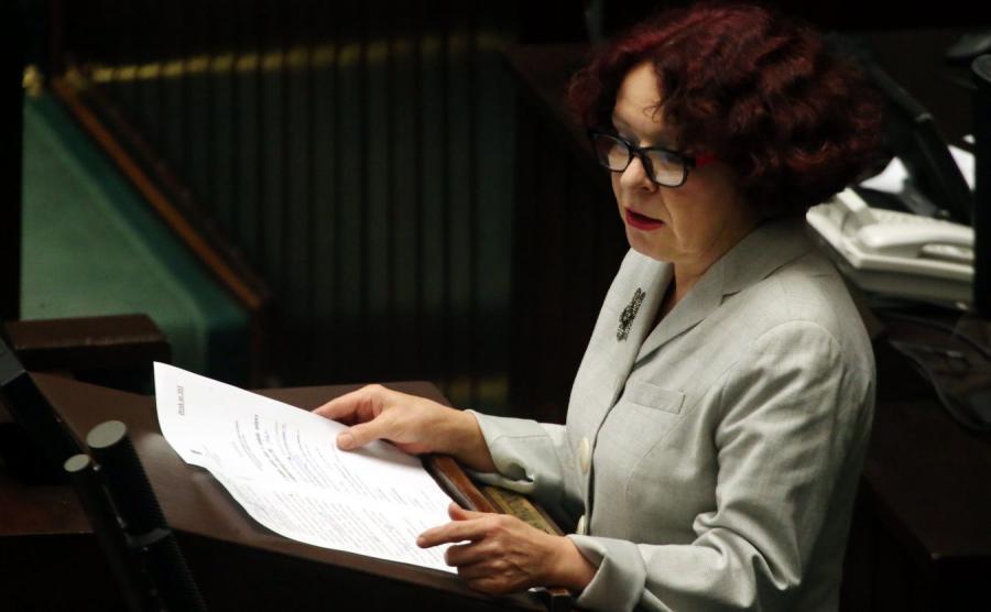 Posłanka PiS Elżbieta Kruk