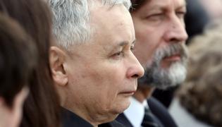 Jarosław Kaczyński i Jan Maria Tomaszewski