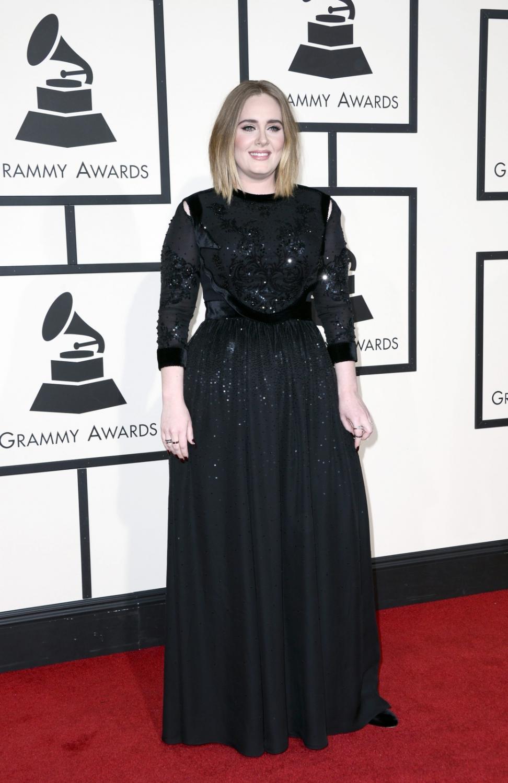 Adele na Grammy wyglądała rewelacyjnie