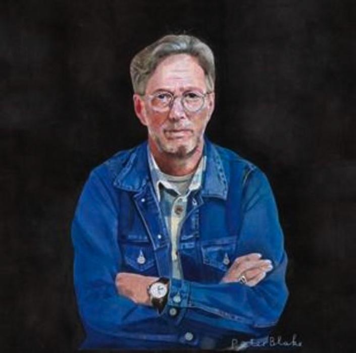 Eric Clapton na okładce krążka \