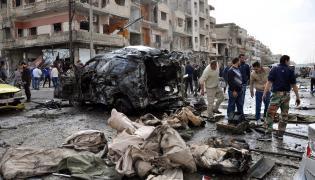Homs w Syrii