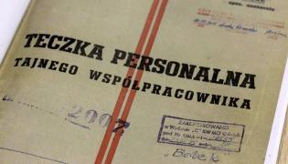 Teczka personalna tajnego współpracownika o pseudonimie Bolek ujawniona przez IPN