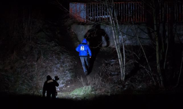 Nocny eksperyment w Poznaniu. Manekin udawał ciało zaginionej Ewy Tylman [ZDJĘCIA]