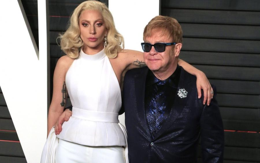 Lady Gaga i Elton John