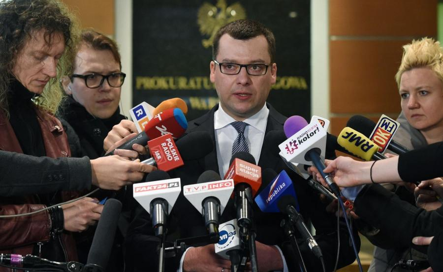Rzecznik prasowy stołecznej prokuratury okręgowej Przemysław Nowak