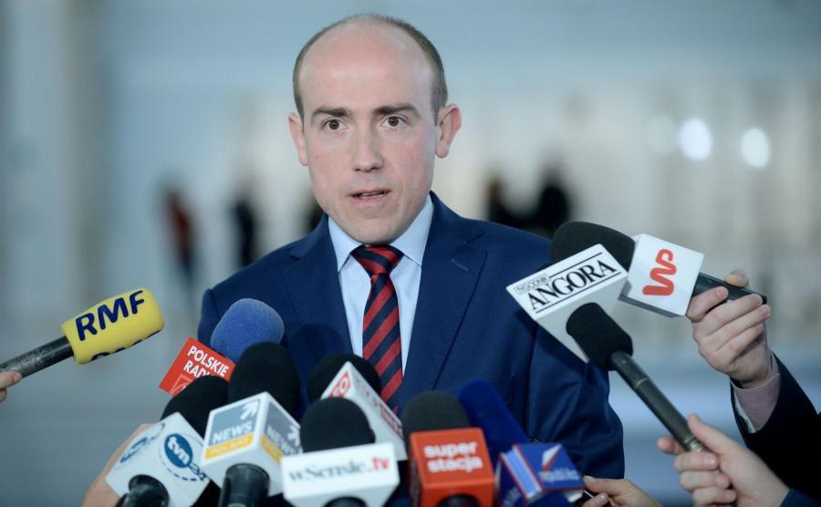 Wiceprzewodniczący PO, poseł Borys Budka