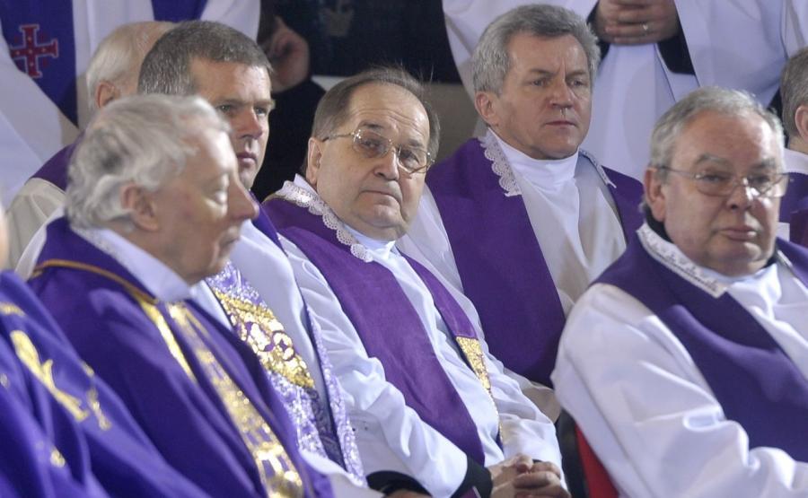 Ojciec Tadeusz Rydzyk wśród duchownych
