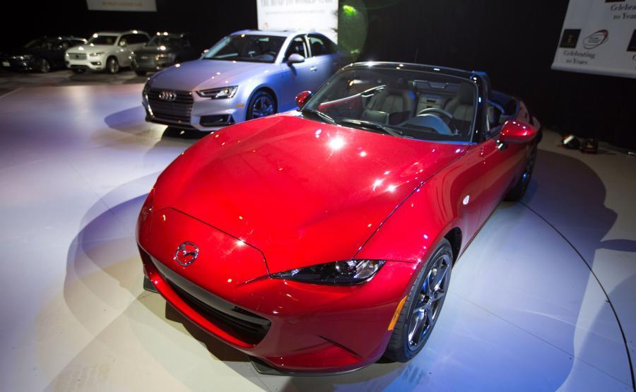 Mazda MX-5 - najlepszy samochód 2016