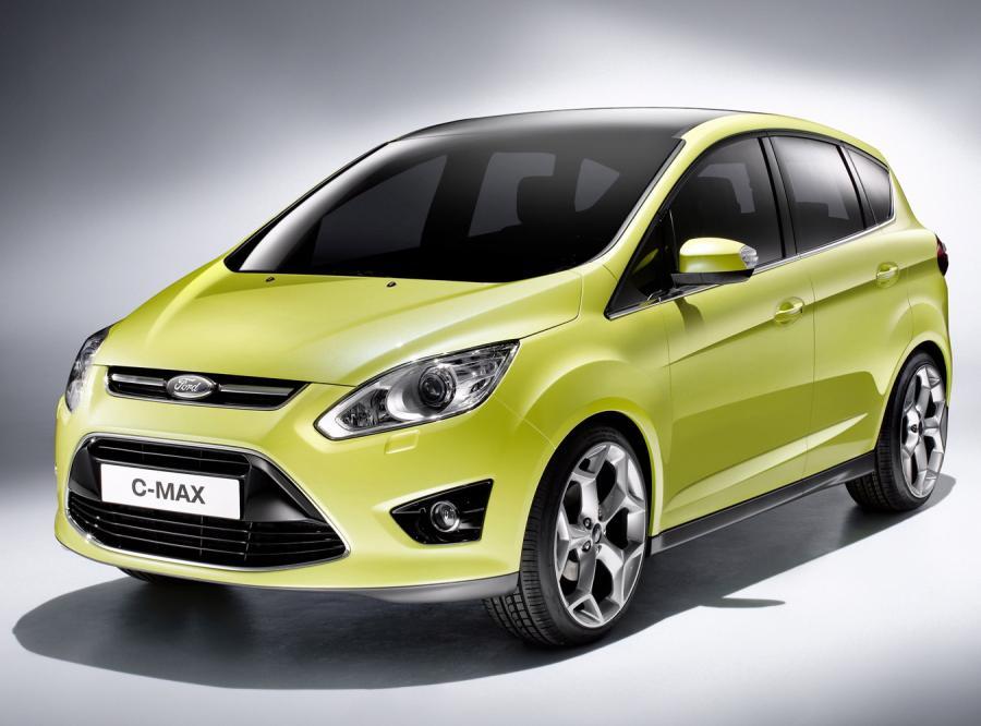 Oto jest nowy Ford C-Max