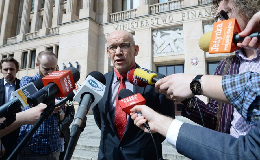 Generalny Inspektor Informacji Finansowej, podsekretarz stanu w Ministerstwie Finansów Wiesław Jasiński