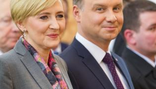 Prezydent Andrzej Duda broni swojej żony