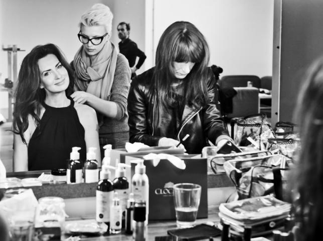 Agnieszka Maciąg za kulisami kampanii kosmetyków Clochee