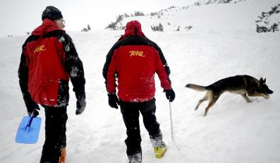 Lawina w Tatrach porwała trzech turystów