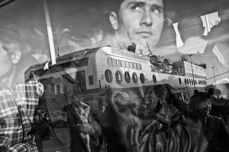 """Grand Press Photo 2016 / Dawid Zieliński, """"Kontakt"""""""