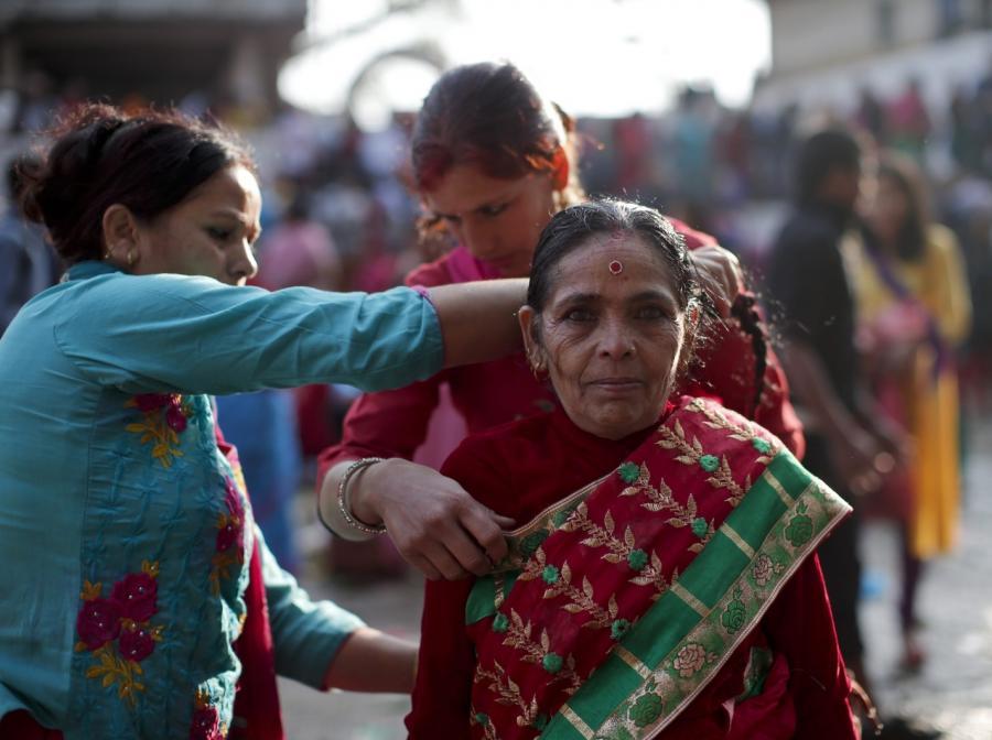 Dzień matki w Nepalu