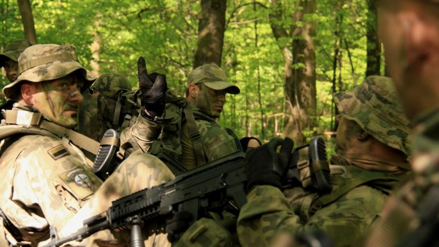 Komandosi z 6 batalionu powietrznodesantowego