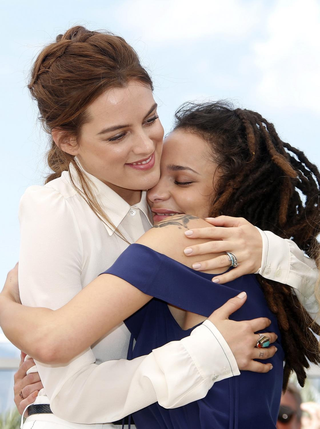 "Riley Keough i Sasha Lane promowały w Cannes film ""American Honey"""