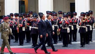 Prezydent Andrzej Duda i premier Matteo Renzi