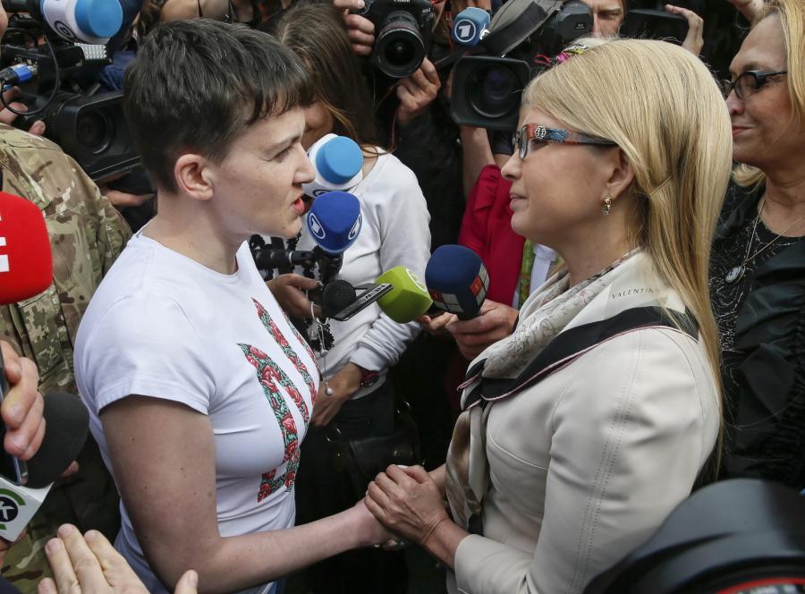 Nadia Sawczenko i Julia Tymoszenko