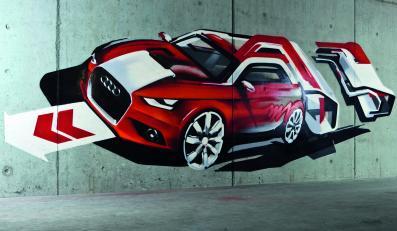 Takie będzie najmniejsze Audi