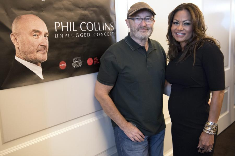 Phil Collins i jego żona Orianne – twórcy Little Dreams Foundation