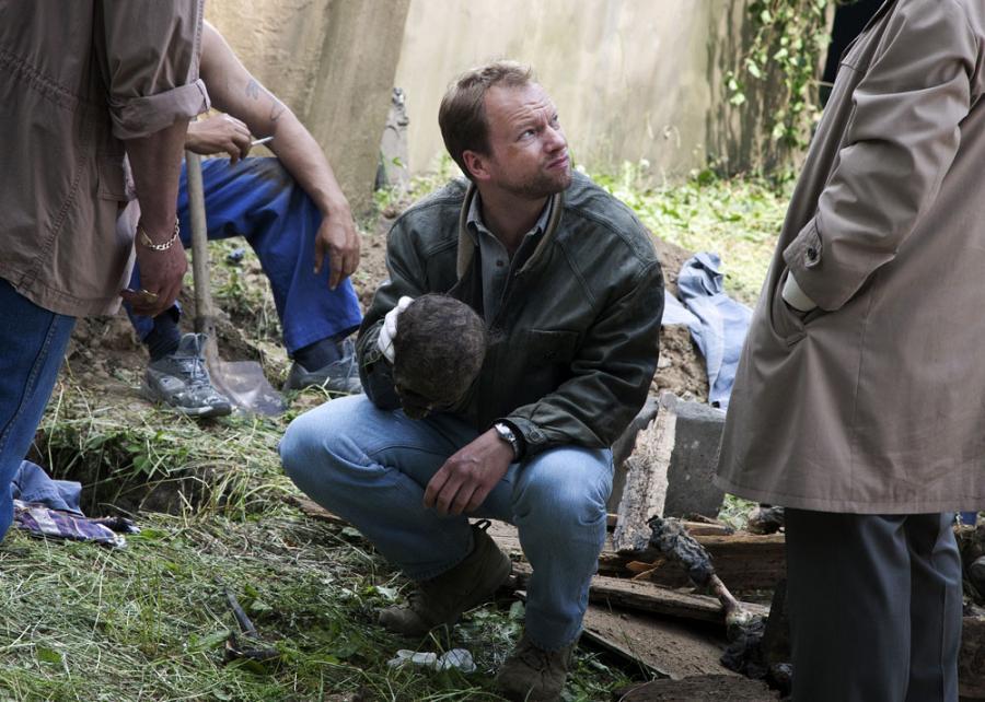 Maciej Stuhr jako detektyw Krauz