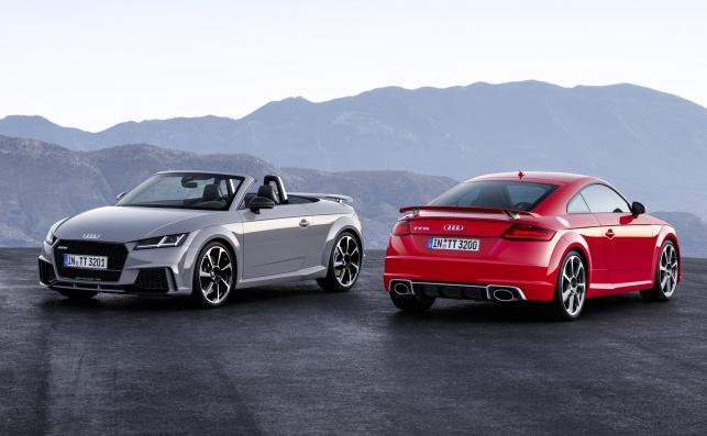 Audi TT RS Roadster i TT RS Coupe
