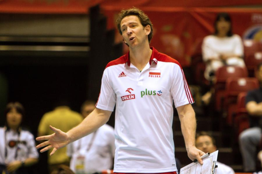 Trener reprezentacji Polski Stephane Antiga