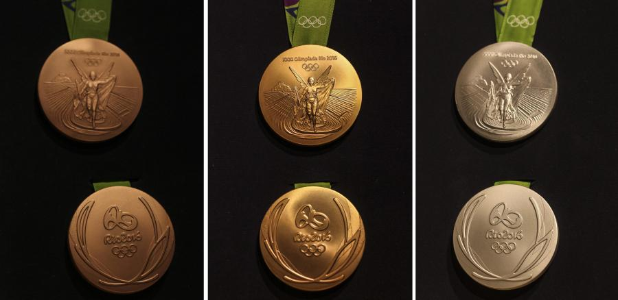 Tak wyglądają medale olimpijskie Rio 2016