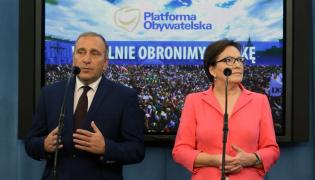 Grzegorz Schetyna, Ewa Kopacz