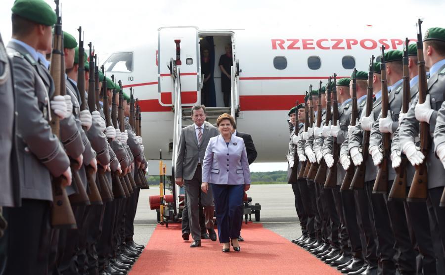 Premier Beata Szydło u kanclerz Angeli Merkel