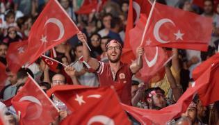 Wiec poparcia dla prezydenta Erdogana