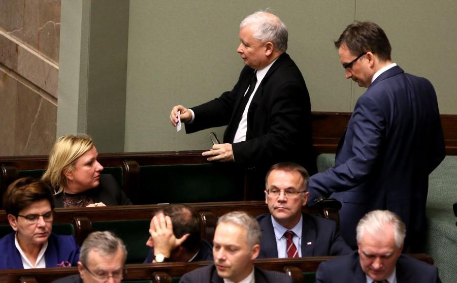Jarosław Kaczyński i rząd PiS