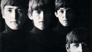 "The Beatles z okładki ""With The Beatles"" z 1963 roku"