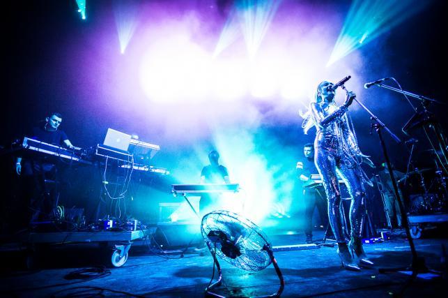 Natalia Nykiel i Rysy na festiwalu Audioriver 2016 / fot. Audioriver