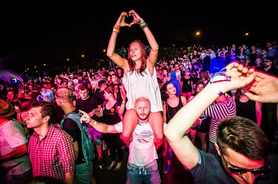 Tak bawiła się publiczność na festiwalu Audioriver 2016 / fot. Audioriver