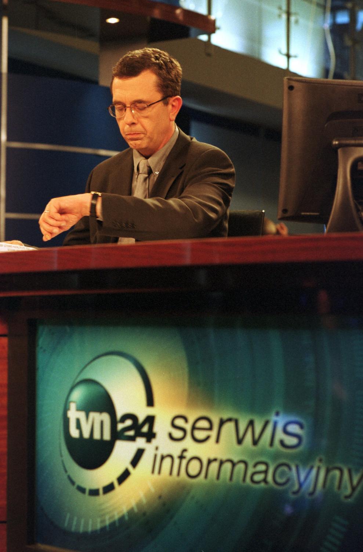 Grzegorz Miecugow w TVN24
