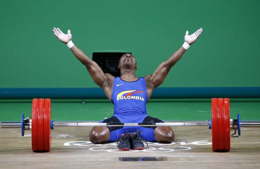 Oscar Figueroa płakał jak bóbr. Siedem miesięcy po operacji kręgosłupa został mistrzem olimpijskim